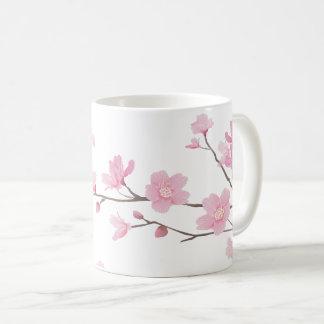 桜-透明背景 コーヒーマグカップ