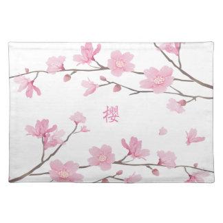 桜-透明背景 ランチョンマット