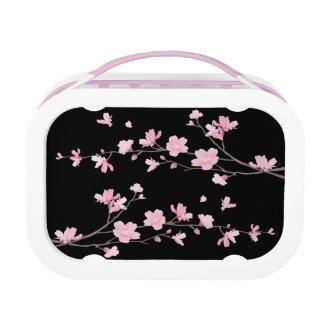 桜-黒 ランチボックス