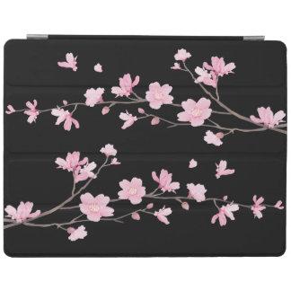 桜-黒 iPadスマートカバー