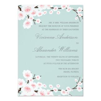桜%PIPE%の結婚式招待状 カード