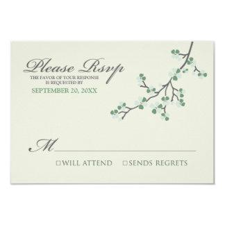 桜RSVPカード(賢人か灰色) カード