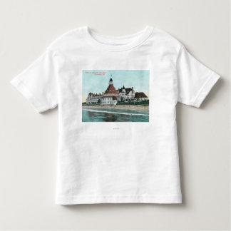 桟橋からのホテルのdel Coronadoの外観 トドラーTシャツ