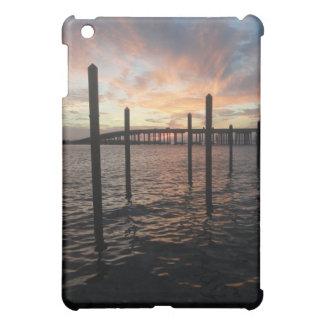 桟橋からの日没 iPad MINI CASE