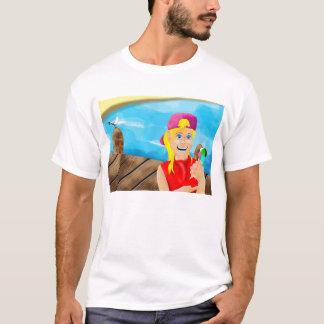 桟橋のアイスクリーム Tシャツ