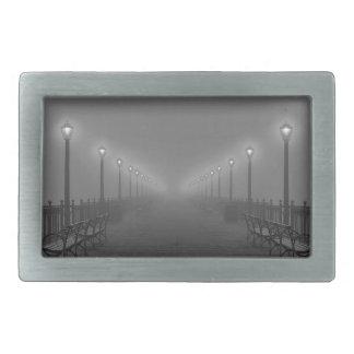 桟橋のライト 長方形ベルトバックル