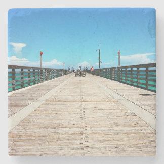桟橋の採取 ストーンコースター