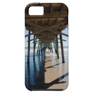 桟橋のiPhone 5/5Sの下、Vibeの場合 iPhone SE/5/5s ケース