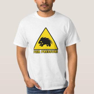桟橋圧力 Tシャツ