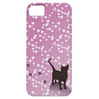 梅と猫 iPhoneケース iPhone SE/5/5s ケース