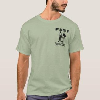 梅毒を今日ストップ人々 Tシャツ