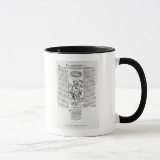 梅毒1496年のイラストレーション マグカップ