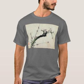 梅花、北斎のプラムは、Hokusai、Ukiyo-e活気付きます Tシャツ