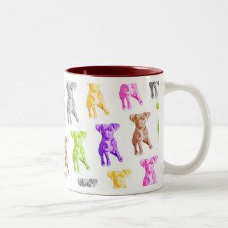 棍棒のマグの多くの色 ツートーンマグカップ