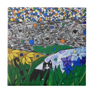 棍棒猫および彼の秘密庭 タイル