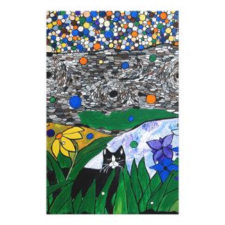 棍棒猫および彼の秘密庭 便箋