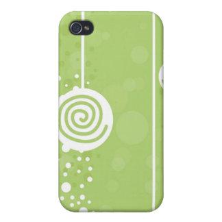 棒つきキャンデーの緑- iPhoneの場合 iPhone 4 Cover