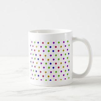 棒つきキャンデーの背景 コーヒーマグカップ