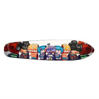 棒つきキャンデーギルドは-通りの芸術のスケートボードを表します カスタムスケートボード