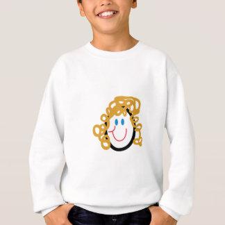 棒のお母さんの顔 スウェットシャツ