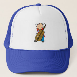 棒の姿のチェロの帽子 キャップ