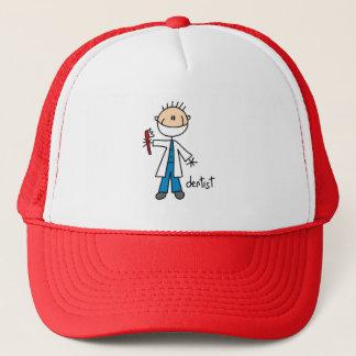 棒の姿の歯科医の帽子 キャップ