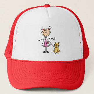 棒の姿の獣医の帽子 キャップ