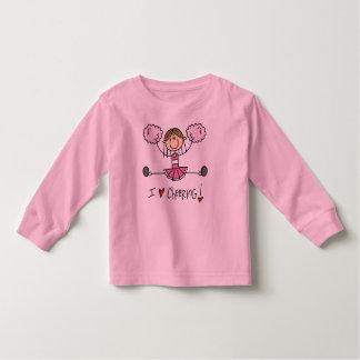 棒の姿I愛元気づけるTシャツおよびギフト トドラーTシャツ