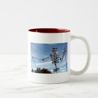 棒の死んだ農夫-ツートーンマグ ツートーンマグカップ