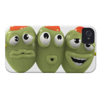 棒の3dオリーブ Case-Mate iPhone 4 ケース