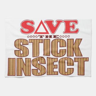 棒昆虫の保存 キッチンタオル