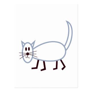 棒猫 ポストカード