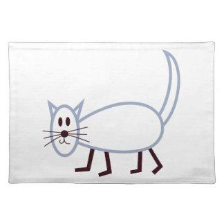 棒猫 ランチョンマット