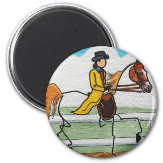 棒馬のアメリカ人Saddlebred マグネット
