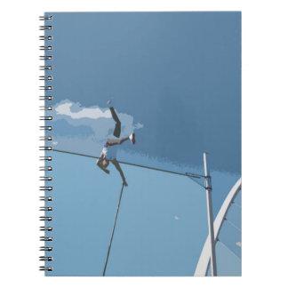 棒高跳びの選手のノート ノートブック