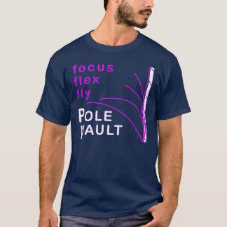 棒高跳びのTシャツ Tシャツ