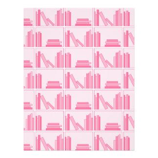 棚のピンクの本 チラシ