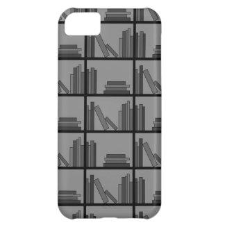 棚の本。 灰色および黒 iPhone5Cケース