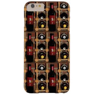 棚のiPhone 6のプラスの場合のワイン・ボトル Barely There iPhone 6 Plus ケース