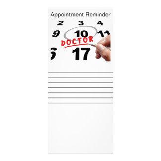 棚カード-アポイントメントのメモカード ラックカード