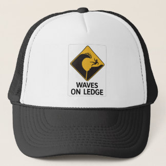 棚(2)の印、ハワイ、米国の波 キャップ