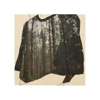 森に ウッドウォールアート