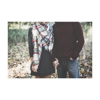 森のカップル キャンバスプリント
