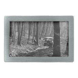 森の住人 長方形ベルトバックル