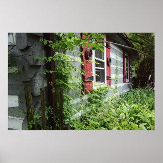 森の小屋 ポスター
