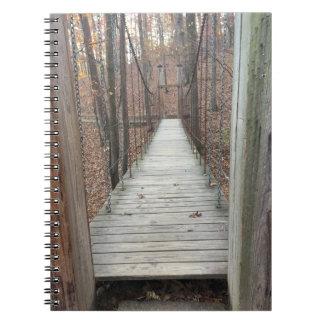 森の橋 ノートブック