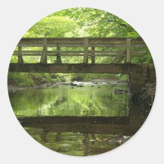 森の橋 ラウンドシール