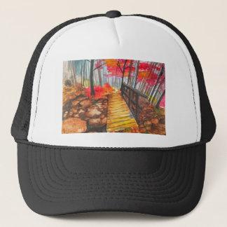 森の歩行 キャップ