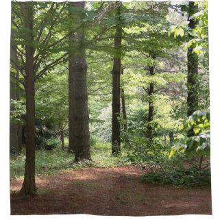 森の歩行 シャワーカーテン