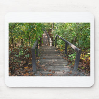 森の歩行 マウスパッド
